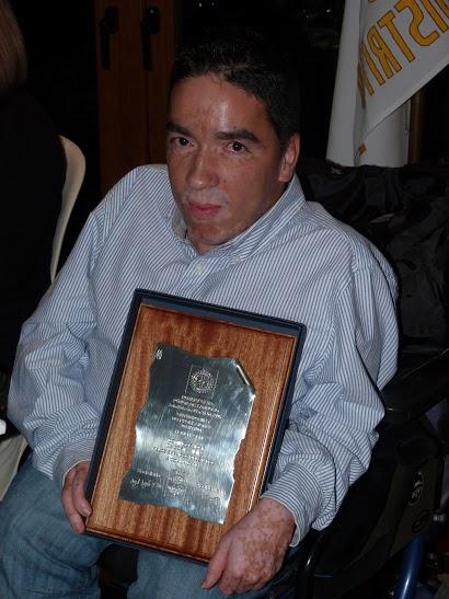 Domingos Vieira homenageado pelo Rotary