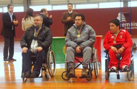 Domingos Vieira  Vice Campeão-Nacional Boccia BC4