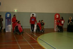 1ºs classificados no V Torneio de Braga de Boccia