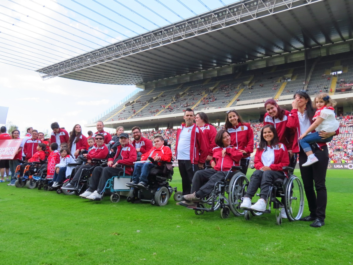 Boccia do SCB no Estádio Municipal de Braga - Abril 2015